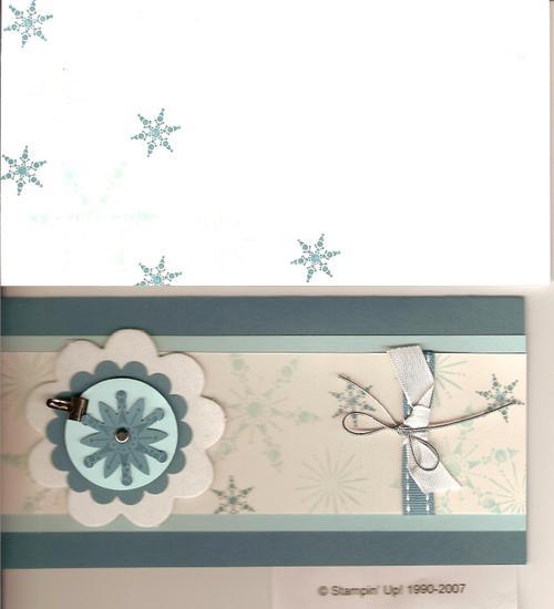 Snow Burst Card #2